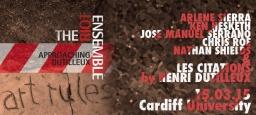 Art Rules – The Riot Ensemble (UK)
